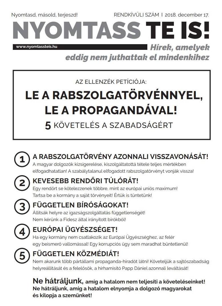 2018. decemberi követelések