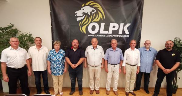 OLPK polgármester- és képviselő-jelöltjei